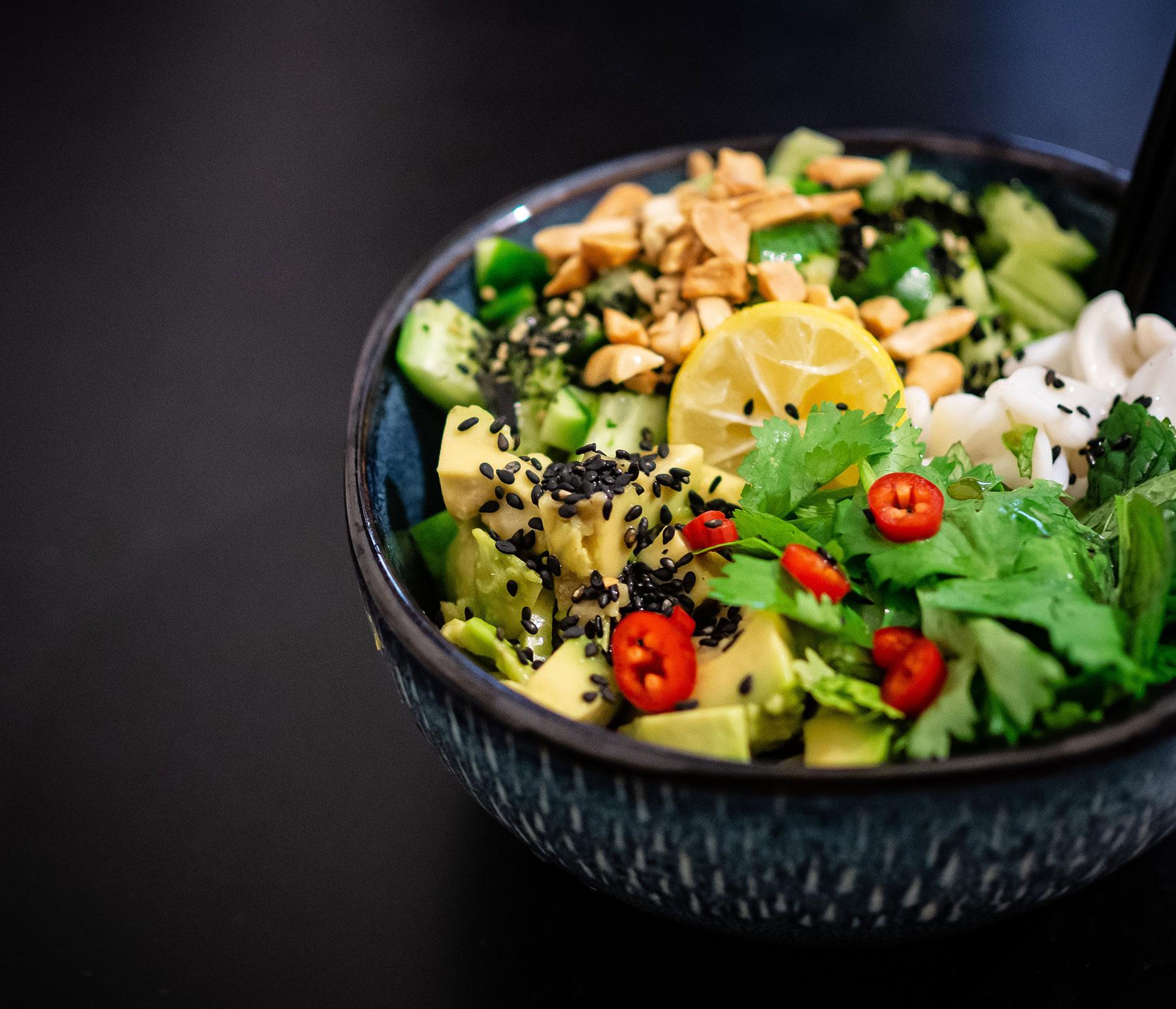poke bowl rijst